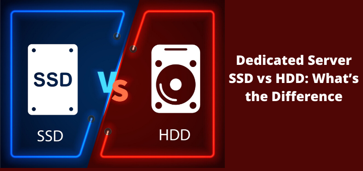 Dedicated Server SSD vs HDD: What's the Difference